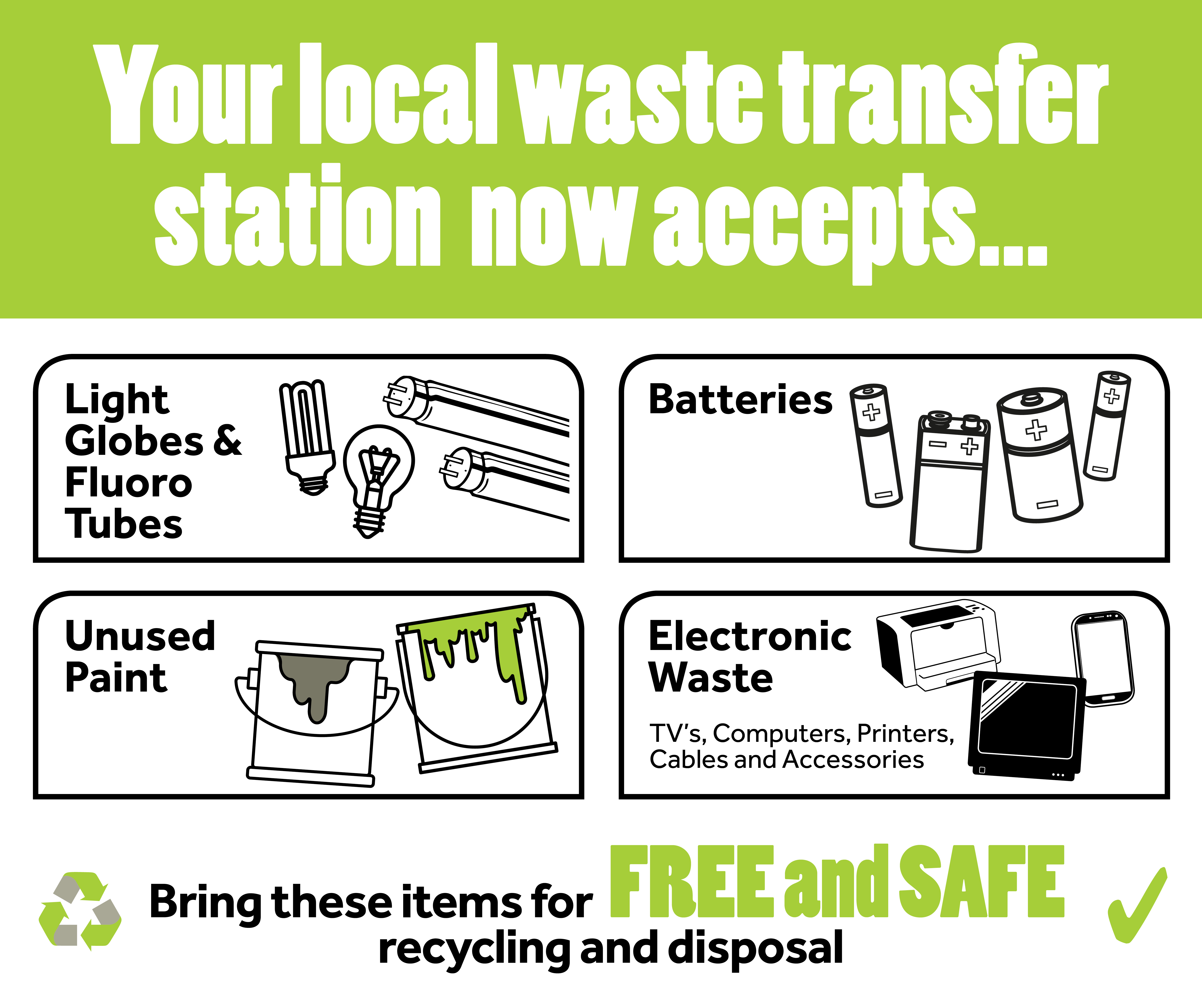 RECYCLING HAZARDOUS WASTE | WASTE TRANSFER STATIONS - Central Coast