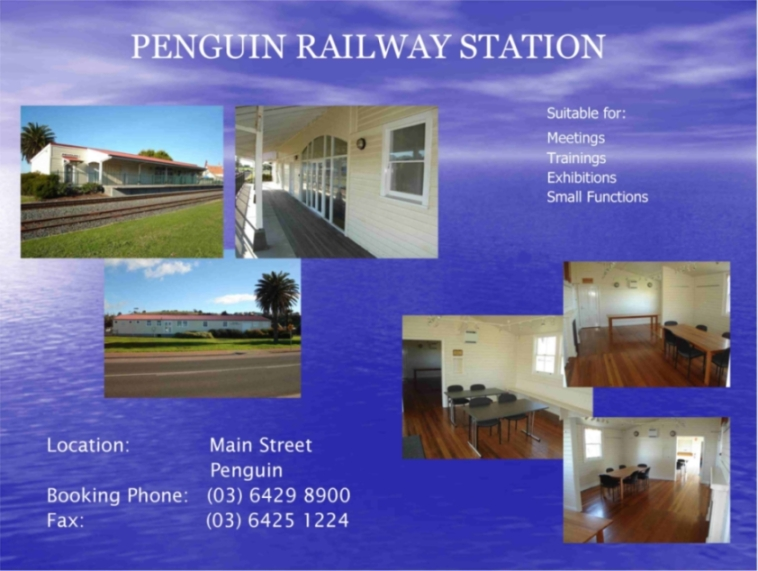 Penguin Railway Station