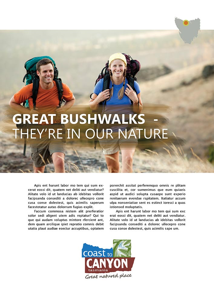 Coast to Canyon, 'Great natured place' – 'It's in our nature'