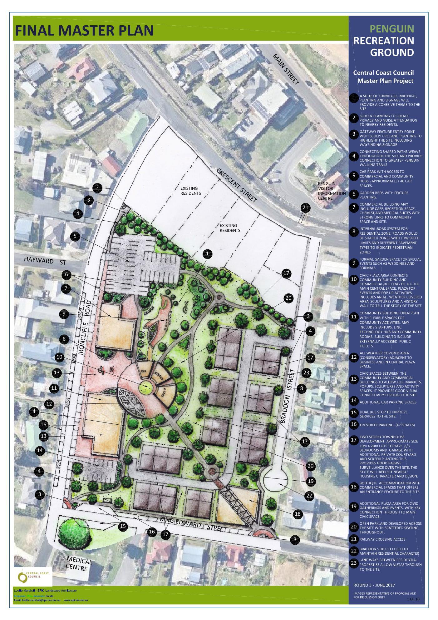 Master Plan  U2013 Central Coast Council